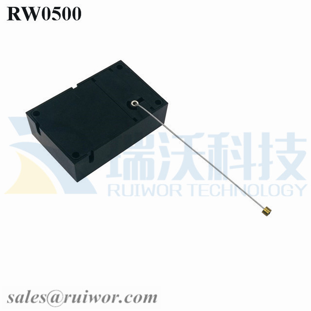 RW0500 Cuboid Anti Theft Pull Box Can Work with Connectors Apply in Different Products Security Harness