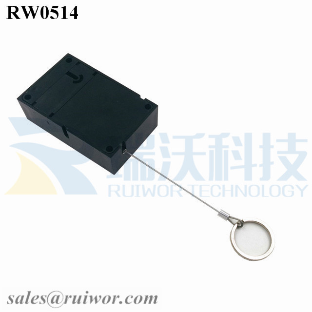 RW0514 Anti Theft Pull Box with Demountable Key Ring for Retail Product Positioning