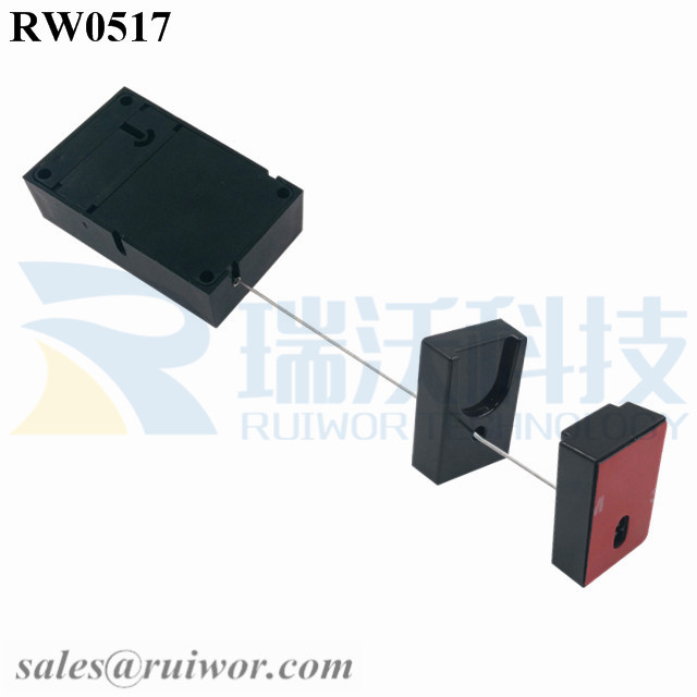 RW0517 Anti Theft Pull Box specifications (cable exit details, box size details)