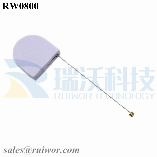 RW0800 D-shaped Micro Retractable Tether Work with Connectors Apply in Different Products Security Harness