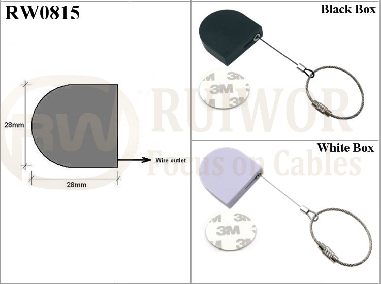 RW0815 Retractable Tether Specifications