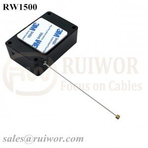 RW1500 Cuboid Multifunctional Retractable Cable Can Work with Connectors Apply in Different Products Security Harness