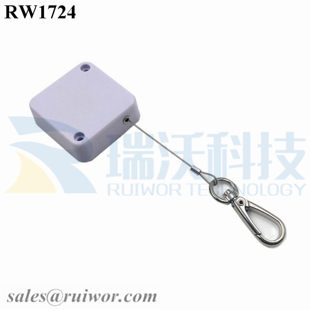 RW1724 Square Security Tether Plus Key Hook