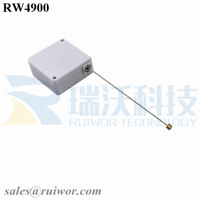 RW4900 Square Ratcheting Retractable Tether Plus Stop Function Work with Cord End for Product Positioning Equipment