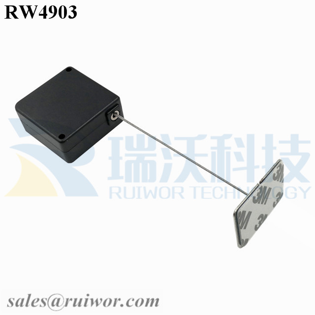RW4903 Square Ratcheting Retractable Tether Plu...