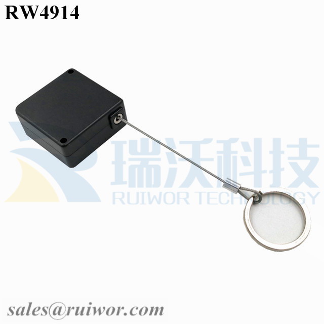 RW4914 Square Ratcheting Retractable Tether Plus Ratchet Function and Demountable Key Ring Featured Image