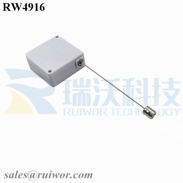 RW4916 Square Ratcheting Retractable Tether Plus Pause Function Plus Side Hole Hardwar