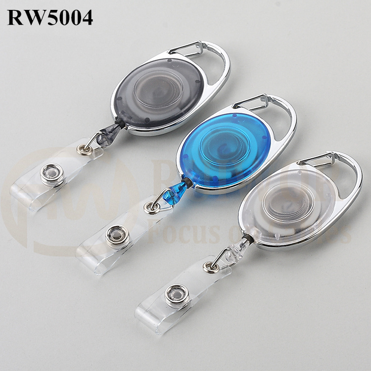 Wholesale Retractable Cable Reels - RW5004 ABS Material Badge Reel – Ruiwor