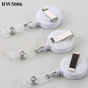 RW5006 ABS Material Badge Reel With Rotatable Base