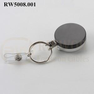 RW5008.001 Metal Material Badge Reel
