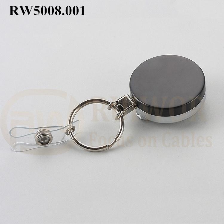 OEM/ODM China Personalized Badge Reels - RW5008.001 Metal Material Badge Reel – Ruiwor