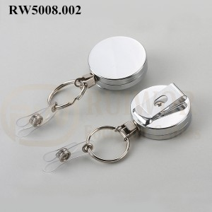 RW5008.002 Metal Material Badge Reel