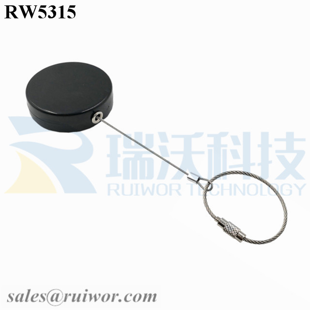 RW5315 Round Security Display Tether Plus Wire ...