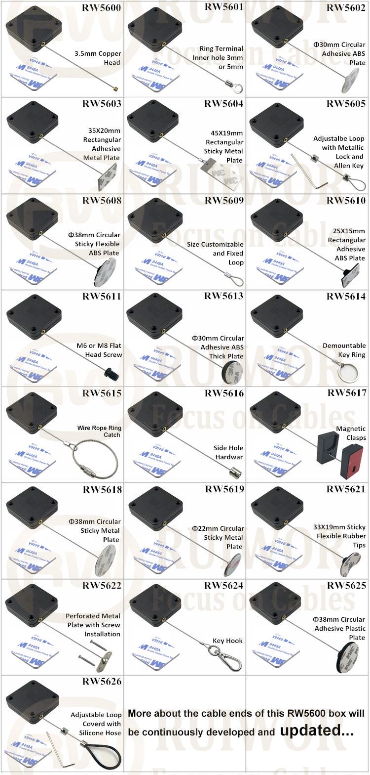 RW5600 Series Heavy Duty Retractable Cable
