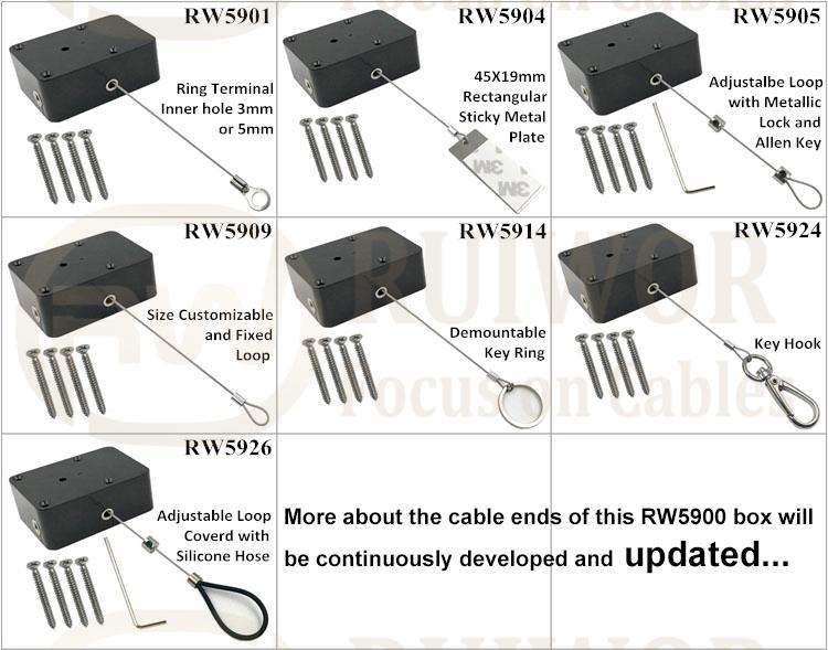 RW5900 Series Heavy Duty Retractable Tether